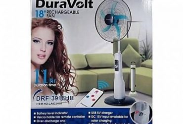 RECHARGEABLE FAN 18″