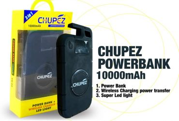 CHUPEZ WIRELESS POWER BANK