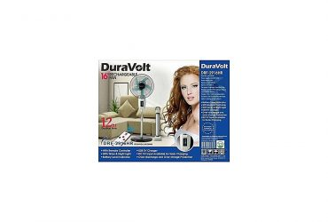DURAVOLT 16 INCHES RECHARGEABLE FAN