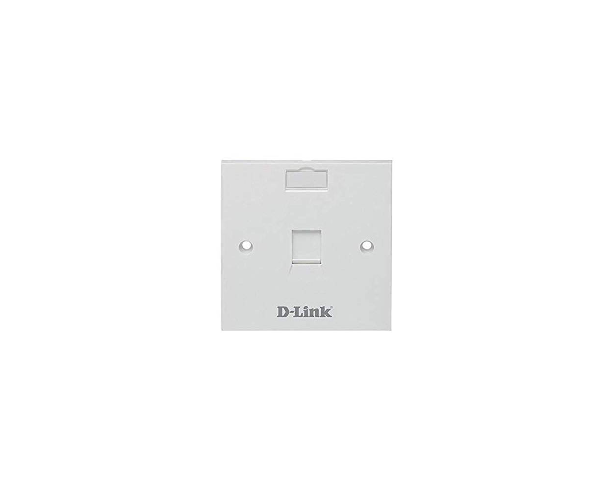 D-LINK FACE PLATE – SINGLE [NFP-0WHI11]
