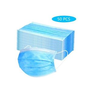 DISPOSABLE 3PLY PROTECTION FACEMASK 50PCS