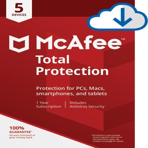 McAfee Total Protection   Antivirus Security