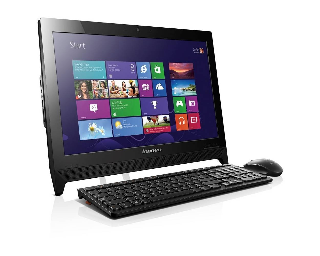 LENOVO S200Z ALL-IN-ONE 19.5 inch; HD NON-TOUCH BLACK PC