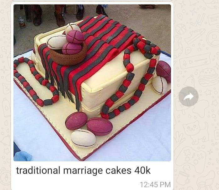 Traditional Marriage Cakes