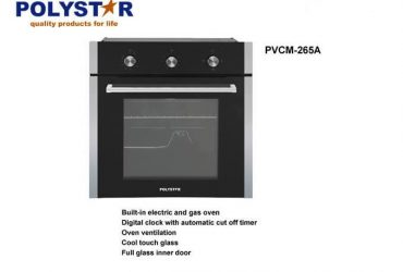 Polystar Built-in Gas and Electric Oven|PVCM-265A