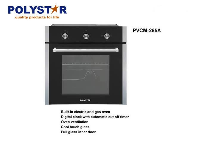 Polystar Built-in Gas and Electric Oven PVCM-265A