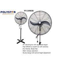 Polystar 20″ Industrial Fan – Black | PV-20NDB
