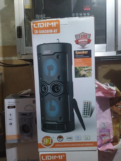 LIDIMI LD-4836 Bluetooth Speaker With Mic Support